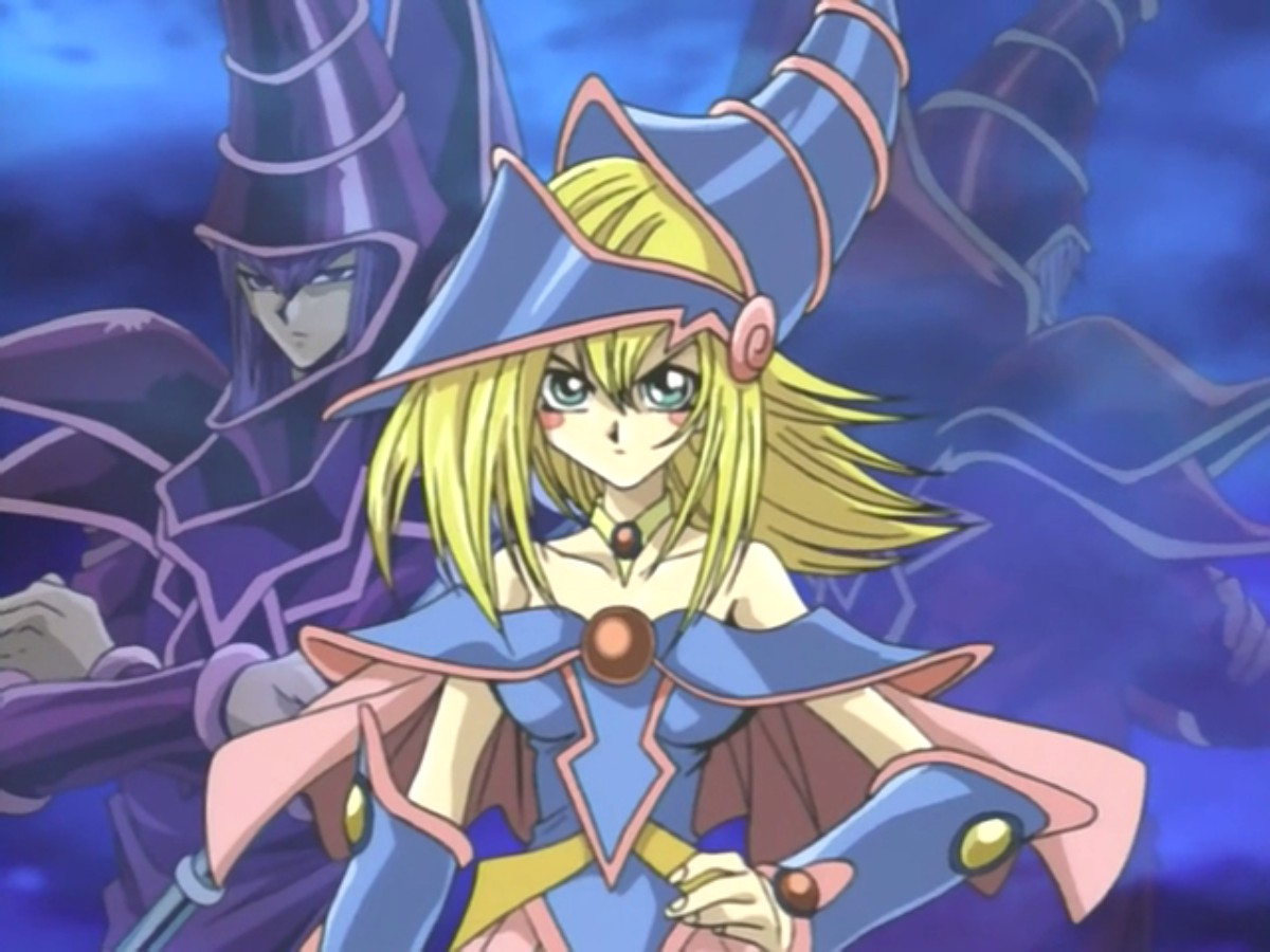 Yugioh Dark Magician Girl Wallpaper Dark Magician Girl Yu Gi Oh Absolute Anime