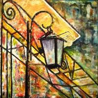 Jorge Mendes Artwork: Colorful Street lamp