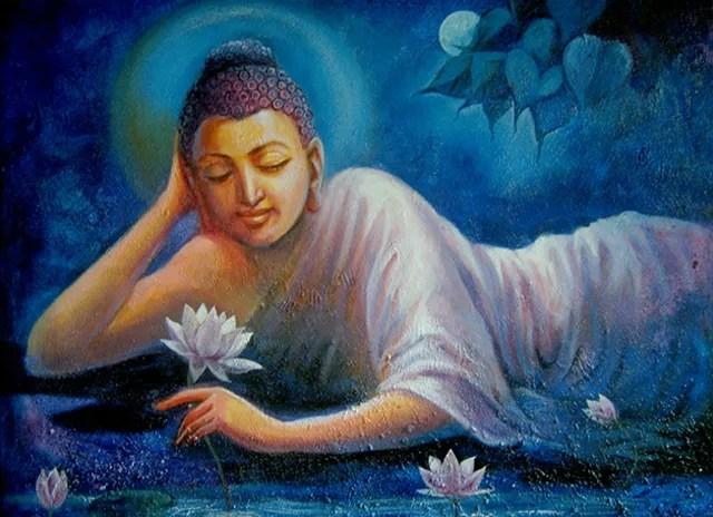 Indian Culture Wallpaper Hd Sanjay Lokhande Artwork Buddha Purity Original Painting