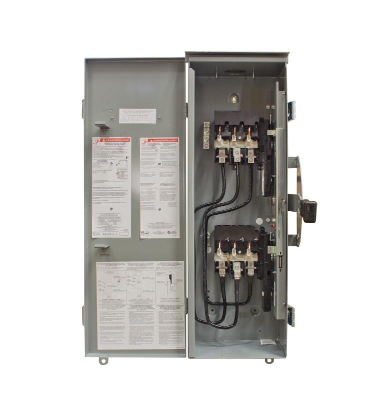Winco Square D Manual Transfer Switch - 100 Amp- 64863-009