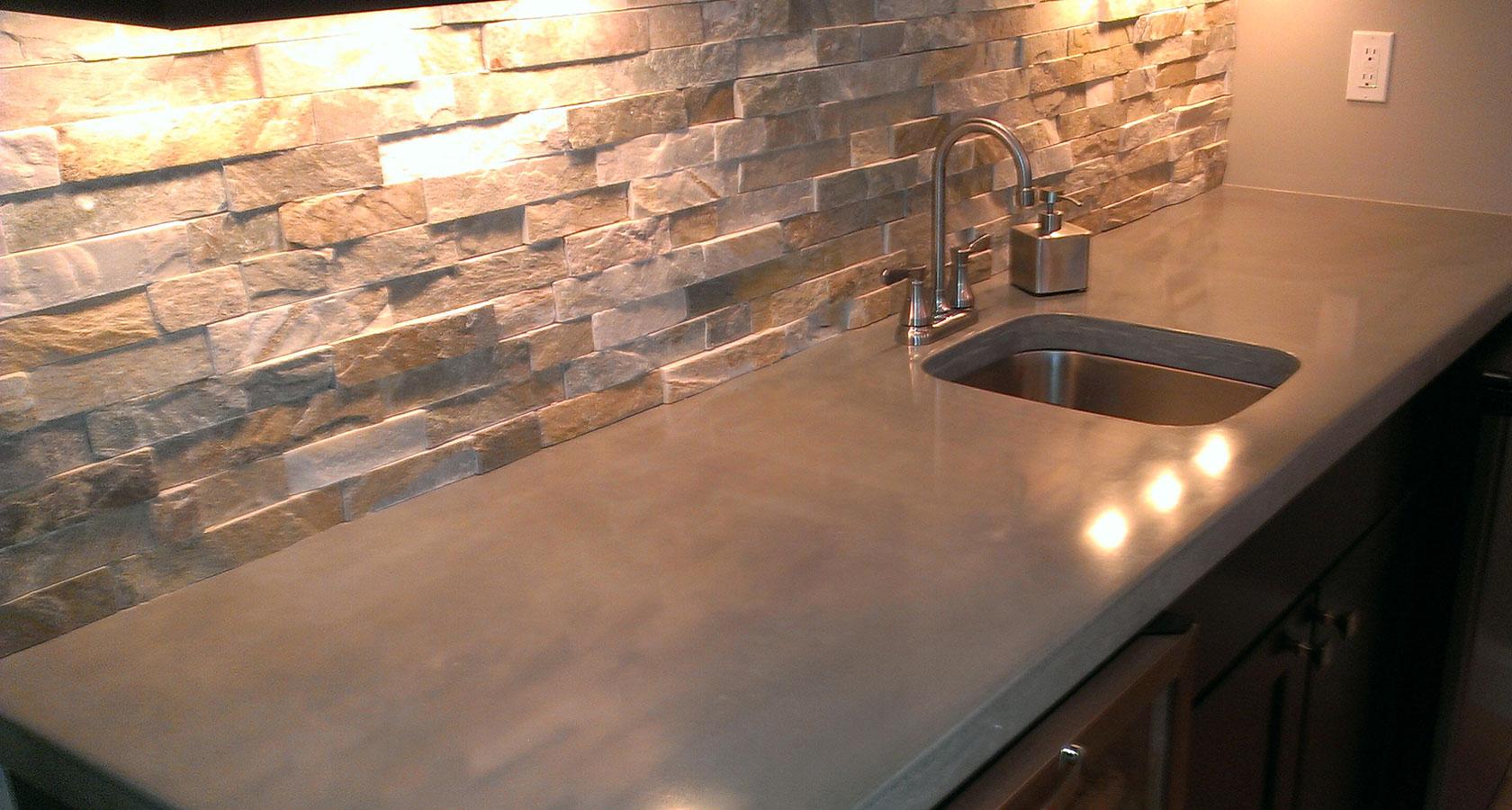 concrete countertops st louis concrete kitchen countertops