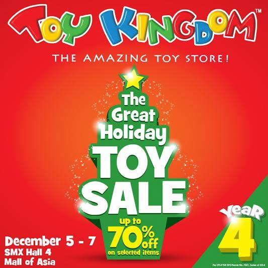 Christmas Warehouse Sales (Lego, Toy Kingdom, Hasbro, etc