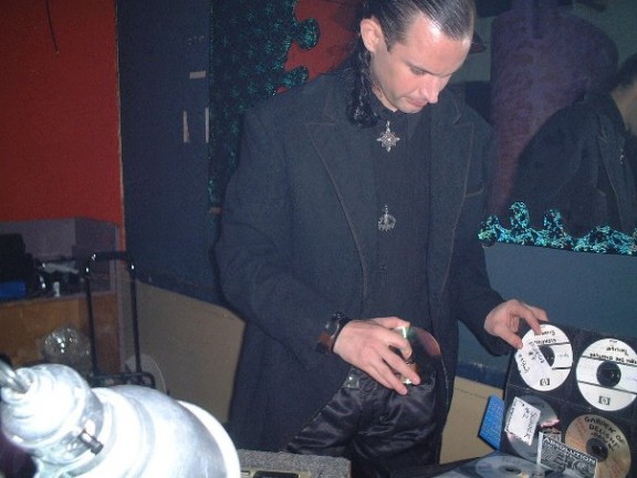 NYC Goth DJ Jason at Sundown