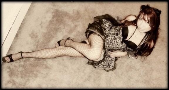 Absolution goth Gogo dancer Lana