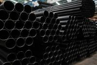 ASTM A53 Gr. B black carbon steel pipe for oil and gas ...