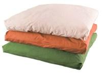 Organic Zabuton Dog & Cat Pet Bed w/Organic Cotton Cover