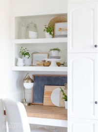 How to Style Open Shelving in the Kitchen - A Burst of ...