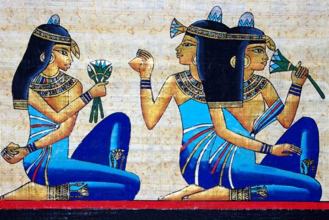 Blue Lotus : The Entheogen of Ancient Egypt Blue-lotus-girls