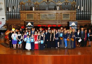Participants of the concert with the Embassies representatives int