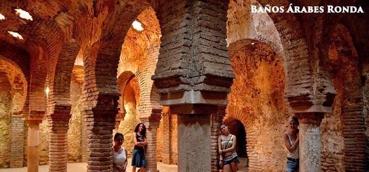 Moorish baths in Ronda