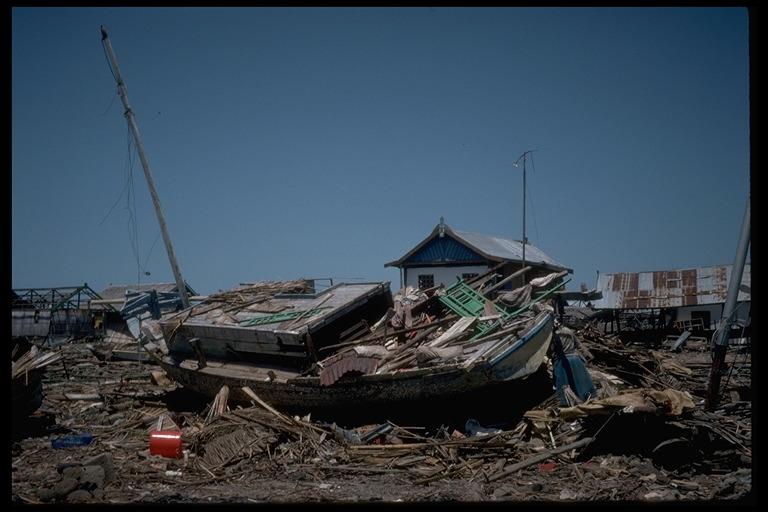 Tsunami ini terjadi di Flores Nusa Tenggara Timur (NTT)