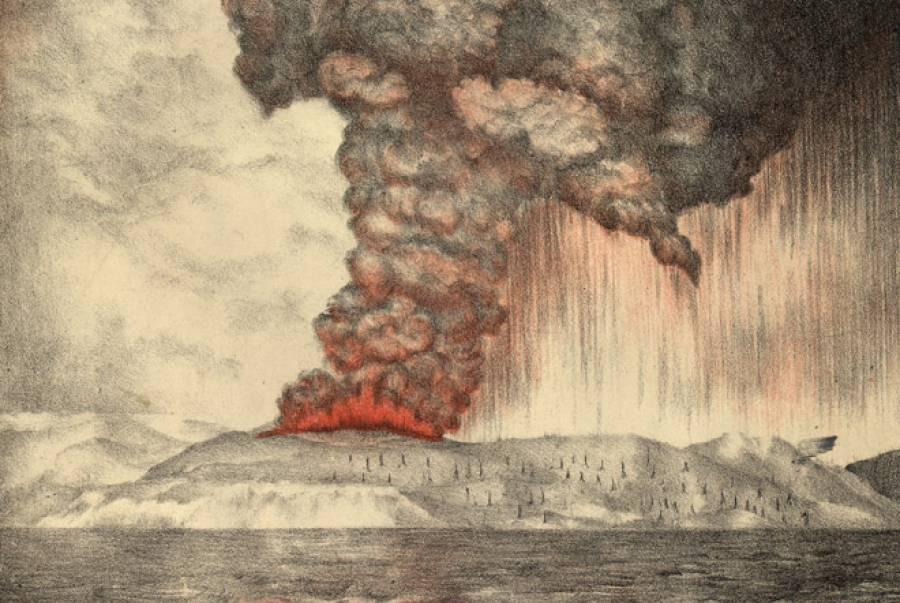 131Tahun Letusan Krakatau