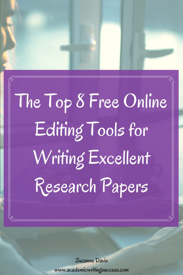 The Top 8 Free Online Editing Tools For Writing Excellent Research