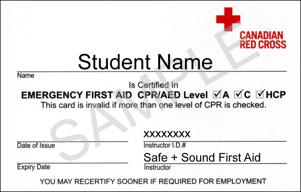 First Aid Training Certificate Template Costumepartyrun