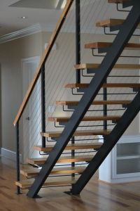 Metal Floating Stairs & Straight Stair Photo Gallery ...