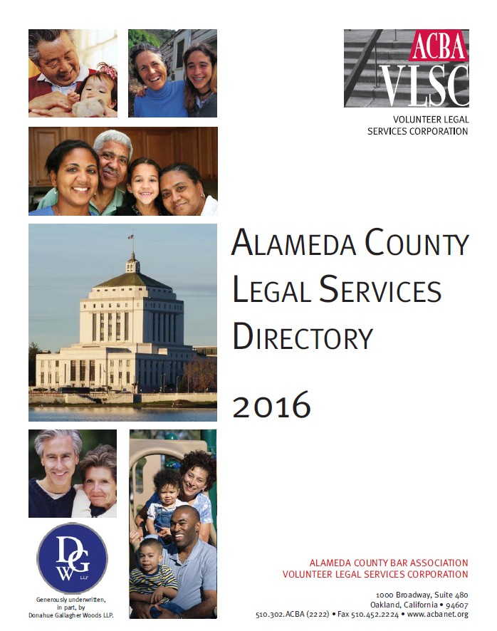 Legal Services Directory Image » Alameda County Bar Association - community service directory