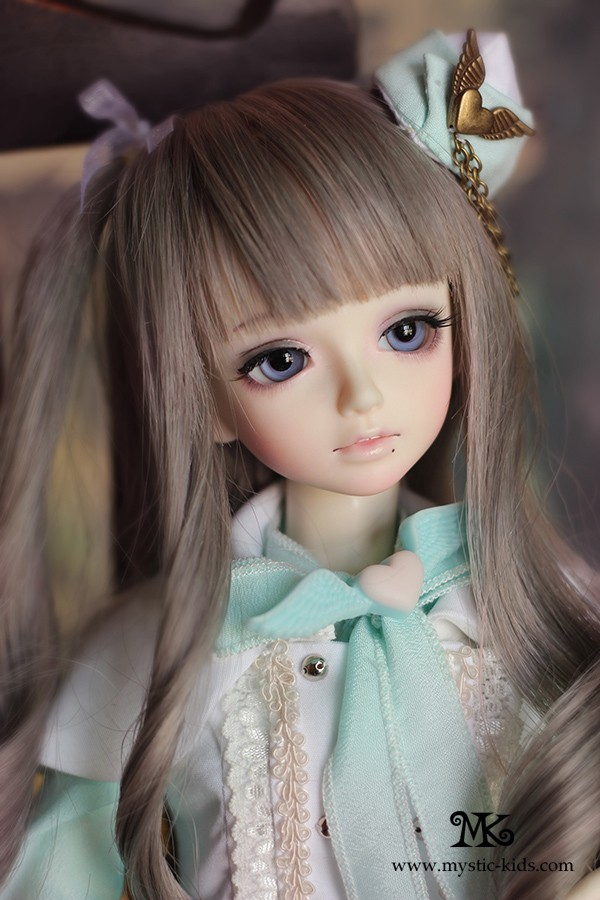 Cute Stylish Child Girl Wallpaper Lillian 45cm Mystic Kids Girl Bjd Dolls Accessories