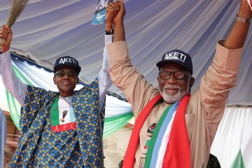 Buhari Congratulates Akeredolu On His Win