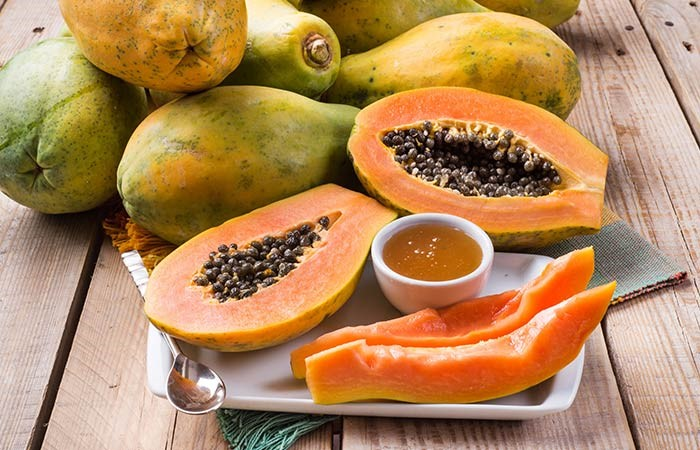 Papaya Face Pack For Skin Blemishes