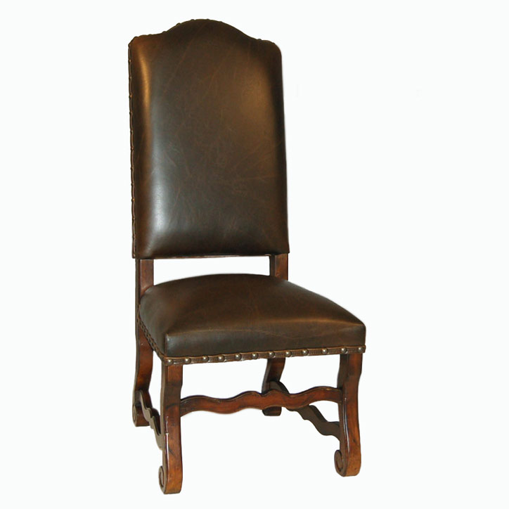 All Leather Side Chair