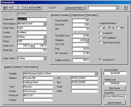 Microsoft Access Sample Database 2