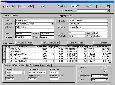 Microsoft Access Sample Database 3