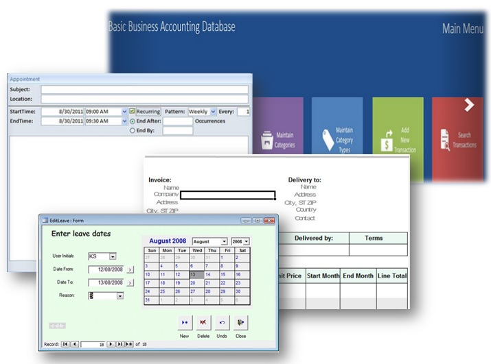 MS Access Database Templates \u2013 Some Are Even Free!