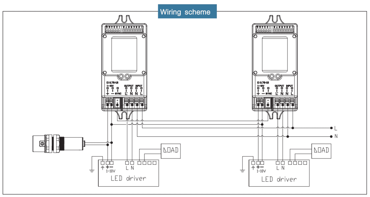 wiring motion sensor light