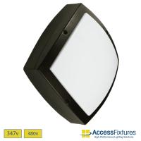 LED 27w Square Wall Light 120-277v - 100w HID EQV