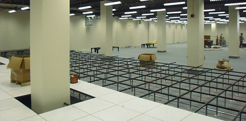 Raised Floor Info History Of Perforated Panels In
