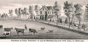 Residence and Farm of Levi R, Mearns, Esq.