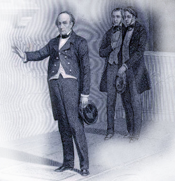 Daniel Webster at the Tomb of Shakespeare