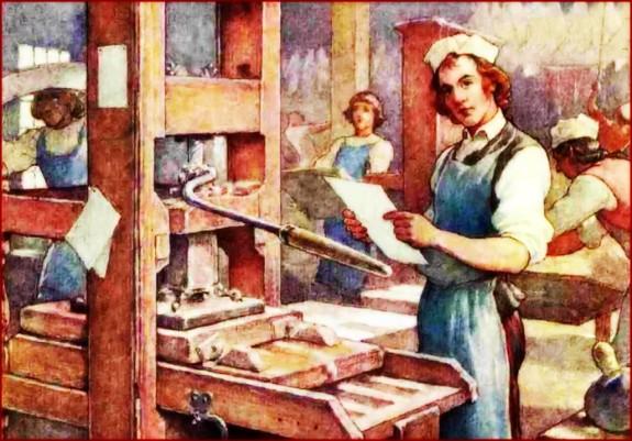 Ben Franklin's Printing Shop