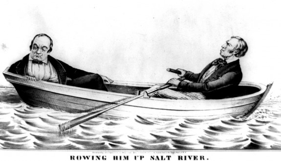 Rowing him up Salt River