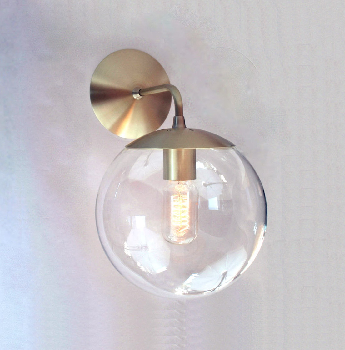 Outdoor Wall Sconce Globe Home Design Ideas