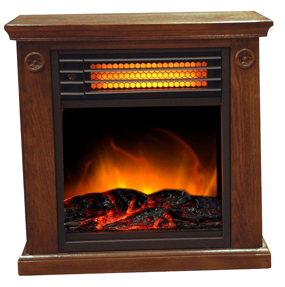 Electric Fireplace Logs With Heater Home Depot Home