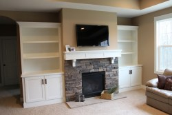 Small Of Fireplace Built Ins