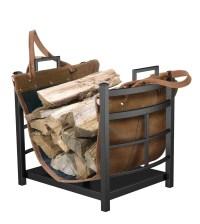 Indoor Fireplace Wood Holder | Home Design Ideas