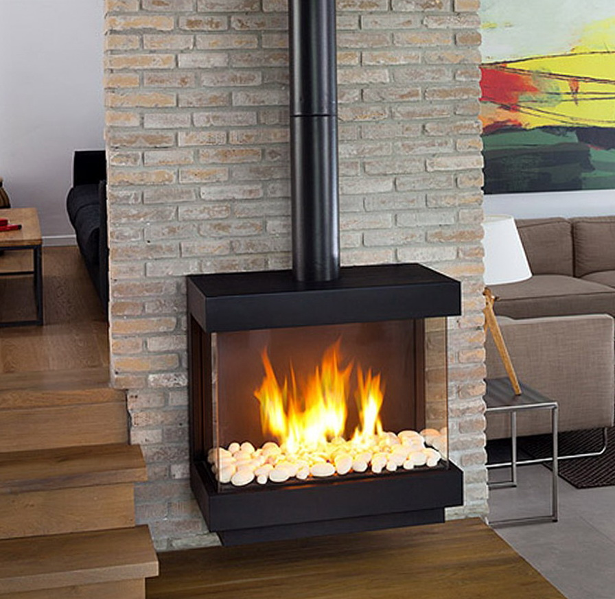 Stand Alone Gas Fireplace Heater Home Design Ideas