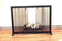 Fireplace Mesh Screen Replacement | Home Design Ideas