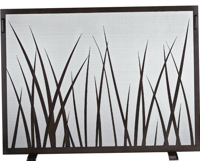 Glass Fireplace Screen Free Standing Home Design Ideas