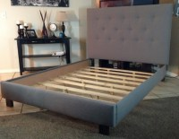 Diy Upholstered Headboard With Wood Frame | Home Design Ideas