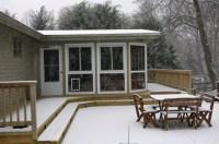 How To Enclose A Porch With Lattice | Home Design Ideas