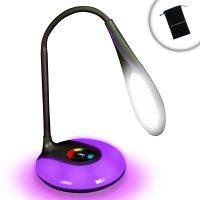 MoodBRIGHT Brightest LED Desk Lamp with Mood Lighting Base ...