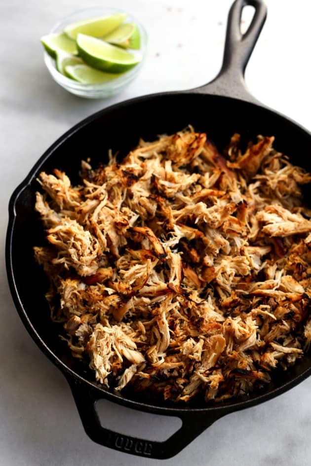 Slow Cooker Chicken Carnitas  3