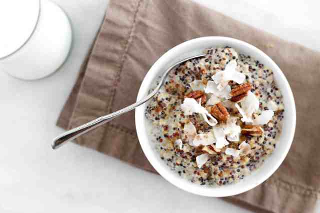Spiced Chai Morning Quinoa | accordingtoelle.com
