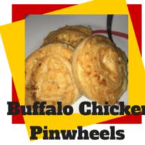 buffalo chicken pinwheels