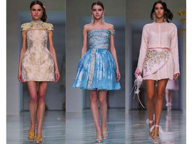 GuoPei, MetGala2015, Yellow, Gown, Rihanna, Fashion, style
