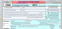 Spreadsheet-Based Form 1040 Available at No Cost for 2013 ...