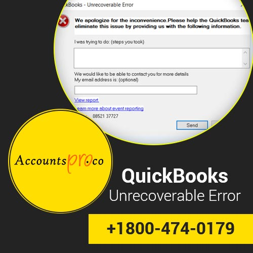 QuickBooks Unrecoverable Error Code  How to Fix, Troubleshooting